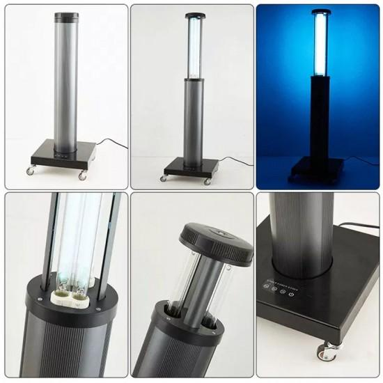 150W Disinfected UVC Lamp With Wheels Auto Lift For Hospital UV Light Trolley Germicidal Lamp