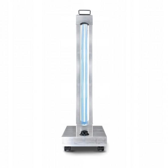 Lampa UV C + Ozon, 150W Profesionala corp inox, dezinfectie, scoli, spitale, cabinete medicale, hoteluri, birouri, magazine, resedinte