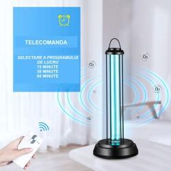 Lampa UV-C+Ozon 38W, dezinfectie, sterilizare, pentru service auto, vestiare, grup sanitar,birouri, scoli,cabinete medicale